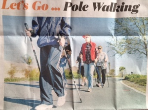 The Wacky Walkers is one of many in The Villages Florida taking advantage of all the benefits that come with using the Poles.