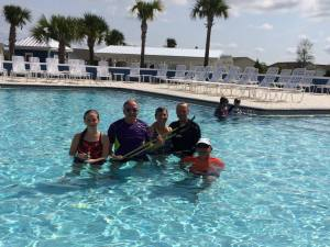Manatee Pool in The Villages July 2015
